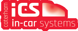 Caterham in car systems logo